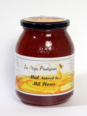 Imagen de Miel de Mil Flores tarro de 1 kg